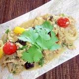 タイ料理★ムーゥ・パッ・ポン★豚&卵のカレー