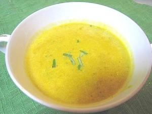 ミキサー不使用♪煮物リメイク☆濃厚かぼちゃスープ