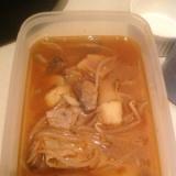 韓国風ピリ辛もやしスープ