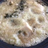 大根おろし、豆腐海苔鍋
