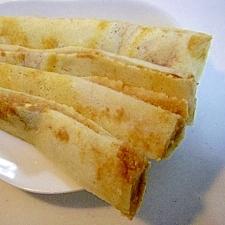 シナモン&クリームチーズのスティックパンケーキ♪