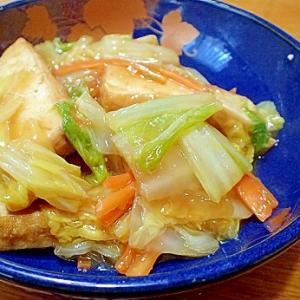 白菜と厚揚げのうま煮