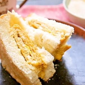 母の味再現♪甘めの玉子焼とマヨがたまらん玉子サンド