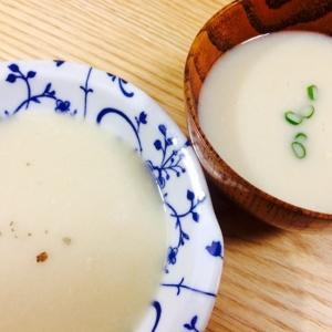 【ガサツ料理】何それ…じゃが芋の味噌汁のポタージュ