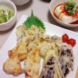 卵不要★マヨネーズで天ぷら衣