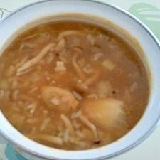 チゲ風とろみ雑炊++