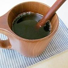 *疲れている時に♪甘い黒みつハニーコーヒー*