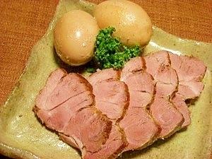 圧力鍋で☆チャーシューついでに煮卵