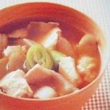 ごぼうと豆腐のけんちん汁