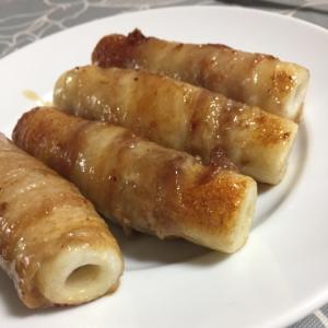 節約レシピ☆ちくわの豚肉巻き☆