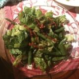 ホット&クールなグリーンサラダ