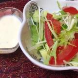 マヨジンジャードレッシングで♡野菜サラダ