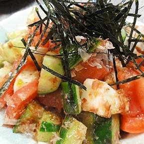 長芋和風サラダ