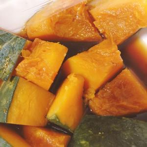 黒糖を使ったかぼちゃの煮物