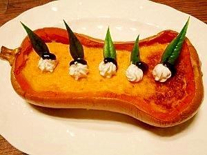 バターナッツ南瓜☆もっちりプリン