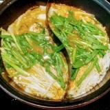 アツアツ♡キムチ味噌鍋