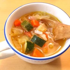 夏バテ防止!栄養たっぷり食べるスープ♪