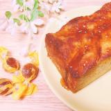 美味♥️角切りりんごとかんろ飴ケーキ