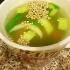 人参とさつまいもの中華スープ