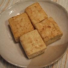豆腐のバター焼き