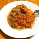 簡単に本格イタリアン☆ツナのトマトソースパスタ