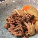 牛肉と冬瓜の煮物