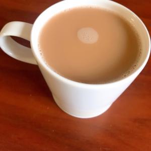きな粉ミルクコーヒー♪食物繊維で腸を整えよう