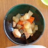 離乳食☆野菜と鶏肉の煮物