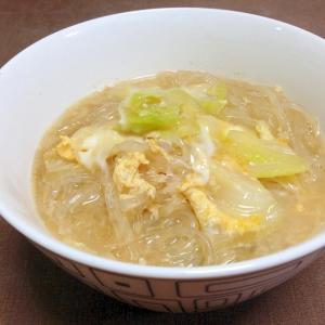 卵とじ春雨スープ