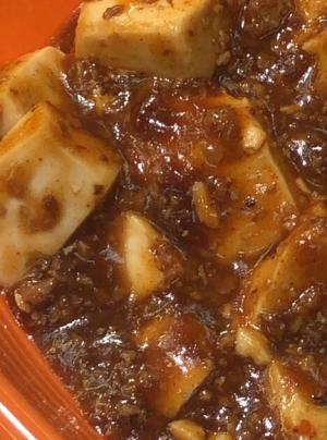 市販の素で簡単♡麻婆豆腐