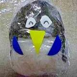 ペンギンのおにぎり 遠足お弁当用