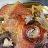 電気圧力鍋で圧力5分♪金目鯛の煮付け