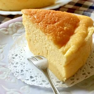 じゅわわぁ〜♡柔らかスフレチーズケーキ
