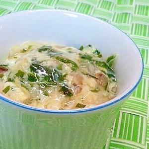 【離乳食】中華風とろみ煮(貝柱&たまご)