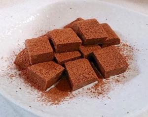 【糖質制限】濃厚★寒天で生チョコ風!