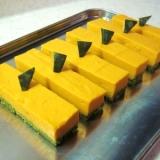 冷やして作る♡かぼちゃの豆乳チーズスティック♪