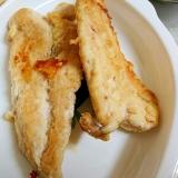 粉豆腐&チーズの衣のささみソテー