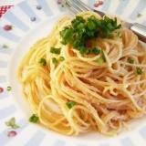 ラー油でピリッと!たらこスパゲティ ♪献立付き♪