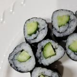 きゅうりと梅の巻き寿司