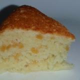 大豆粉でマロンケーキ