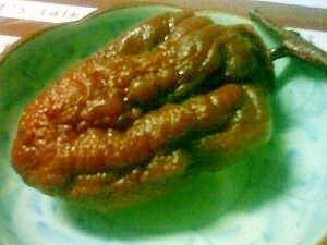 レンジでやわらかい★干し柿の紅茶煮