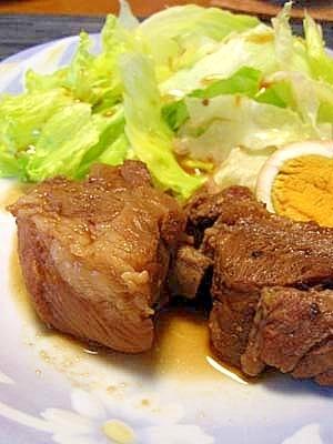 焼き肉のタレで★簡単スペアリブの煮込み