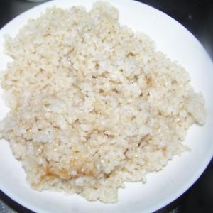 玄米ヨーグルトごはん
