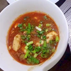 花山椒がピリリとおいしい!☆餡から作る麻婆豆腐