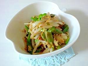 副菜にパパッと簡単!オクラの韓国和え