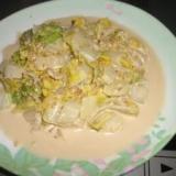 白菜 ほんだしマヨ 和風サラダ