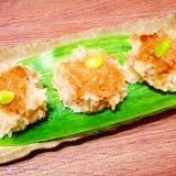 鶏だんご☆モチ米焼売