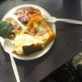 ダッチオーブンdeほくほく美味しいかぼちゃグラタン