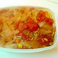 トマトスープパスタ弁当