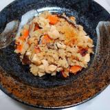 鶏肉と干し椎茸の炊き込みご飯
